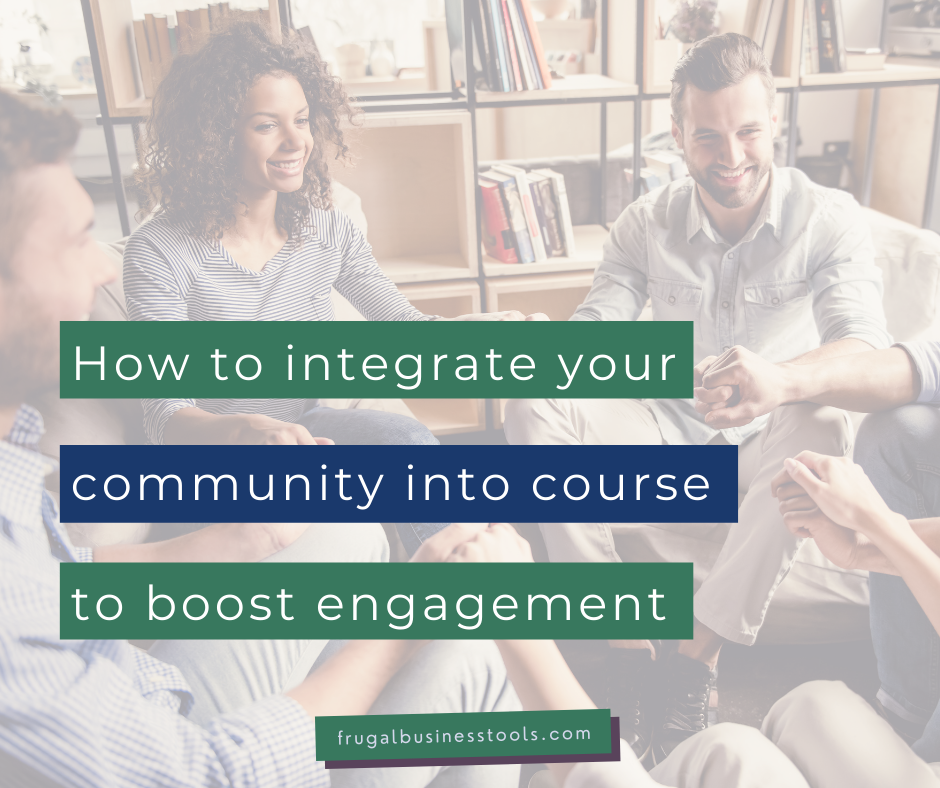 How I boost course engagement with an integrated online community