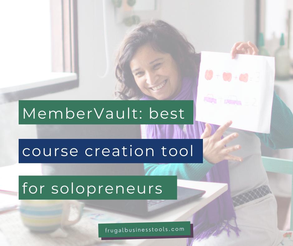 MemberVault: the best course creation platforms for solopreneurs