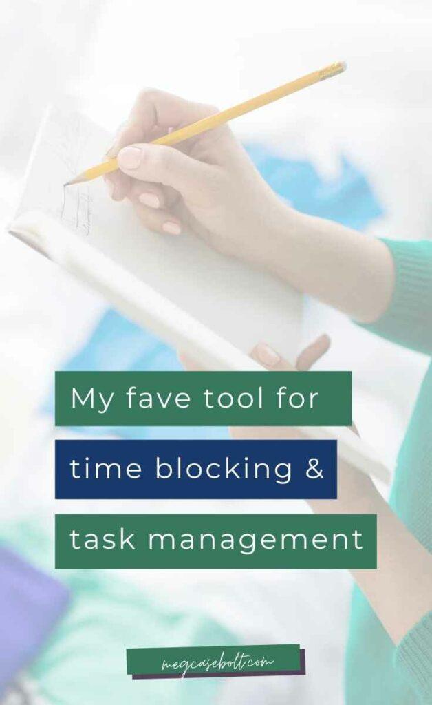 It took me a long time to find a task management tool that actually worked for my life -- where i could time block yet still have flexibility and accountability.