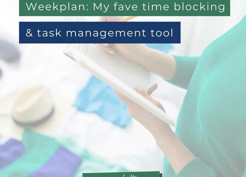 WeekPlan: my favorite time blocking & task management software